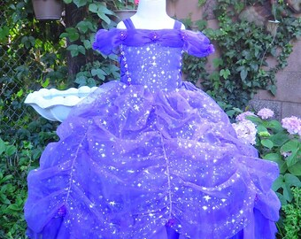 Purple Princess Dress