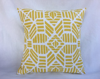 Yellow Accent Pillow Cover - Yellow Throw Pillow Cover - Yellow Accent Pillow Cover - Pillows and Throws - Decorative Pillows