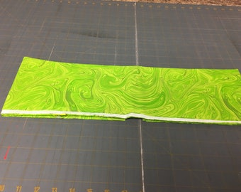no. 14 Lime green marblecious Fabric by the yard