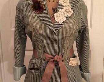Teen or ladies Jacket Vintage-look