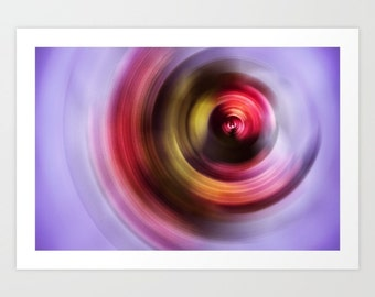 "Art print 11"" x 16"" unframed - Feminine - Abstract artwork - Home Decor"