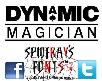DYNAMIC Magician Commercial Font