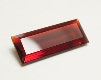 Beautiful faceted mexican fire opal (E2535)