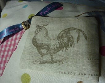 Lovely little rooster coin purse