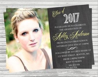 Graduation Invitation Custom DIGITAL Invitation.