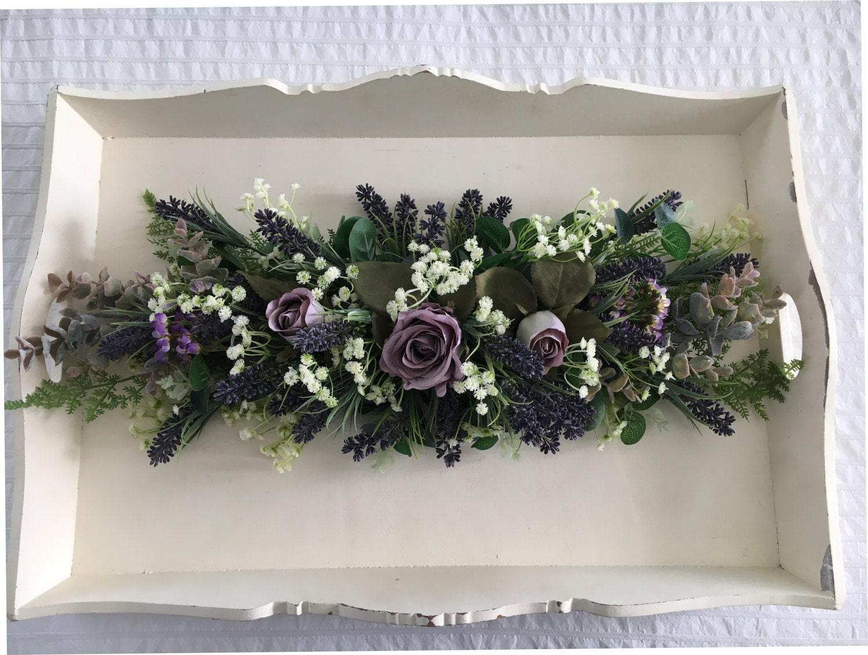 wedding artificial floral swag garland. Black Bedroom Furniture Sets. Home Design Ideas