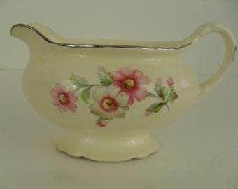 Homer Laughlin Virginia Rose Creamer