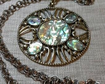 Vintage Abalone Pendant