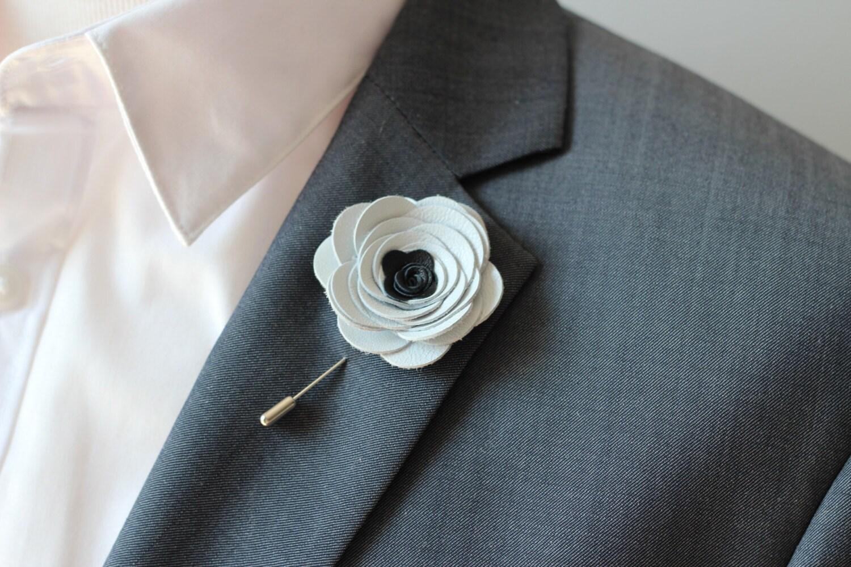 White lapel rose pin mens lapel flower stick pin white zoom dhlflorist Choice Image