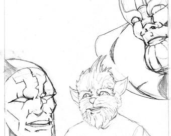 Original Artwork - New Comic Day issue #312, Panel #1