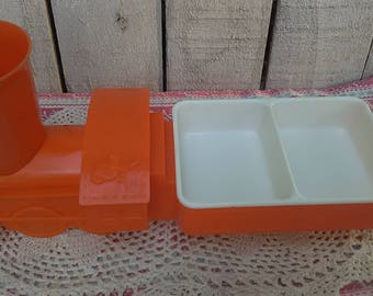 Tommee Tippee Childs Choo Choo Train #999 Dining Set Cup Bowls