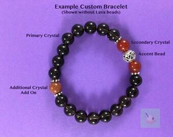 Custom Crystal Bracelet