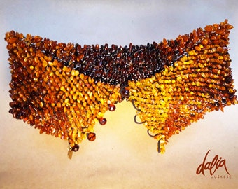 Necklace 2 in 1 - Baltic Amber Collar SPLICE