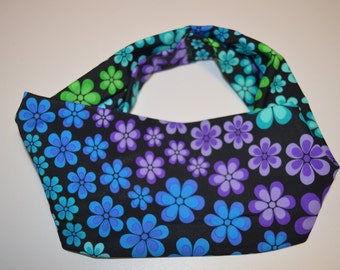 Flower Shower Blue- Headband