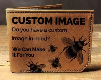Custom image wallet