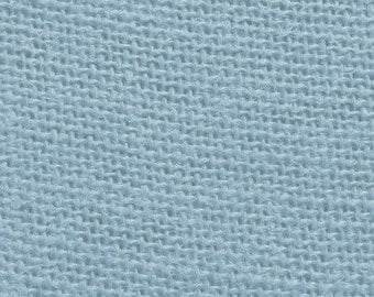 "60"" Inch Light Blue Color Burlap - By The Yard"