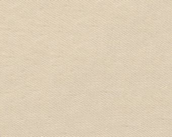 """Antique Natural Twill Cloth 60"""" Wide By The Yard 7oz"""