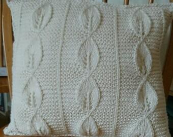 Raw Cotton Cushion