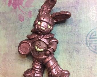 """Steampunk Alice in Wonderland """"White Rabbit"""" Soap"""