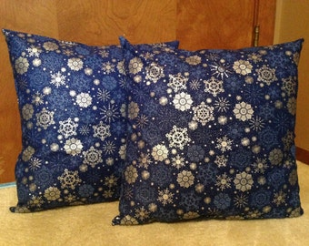 Winter Pillow Covers 16 x 16 inch