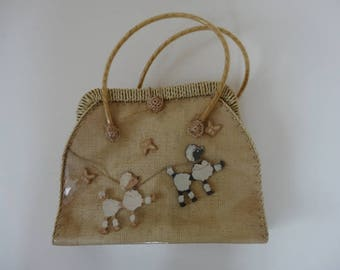 50's Jive Bag. Poodles.