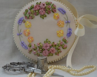 Roses and Lavender Needle Keeper - Full Kit