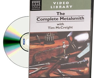 DVD The Complete Metalsmith Instructional DVD By Tim McCreight WA 780-007