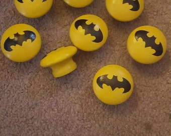 Batman dresser knobs