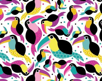 Springs Creative - Knit Prints - Toucans - Knit Fabric