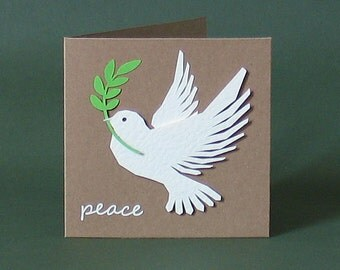 Greeting Cards, Dove of Peace, Easter, Thinking Of You Card, Peace, Dove, Eco-friendly, Eco Friendly, Xmas Cards, Christmas Cards, Christmas