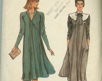 Vogue 7904 Misses Dress and Collar