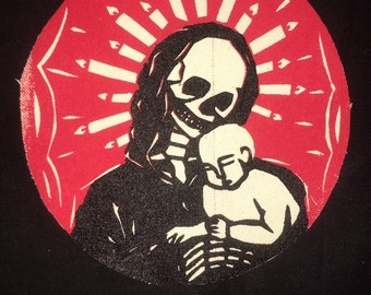 Madonna Mori Patch- Solid Red