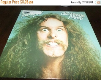 Save 30% Today Vintage 1977 Vinyl LP Record Cat Scratch Fever Ted Nugent Very Good Condition 7156