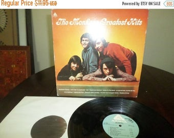 Save 30% Today Vintage 1978 LP Record The Monkees Greatest Hits Very Good Condition 7180