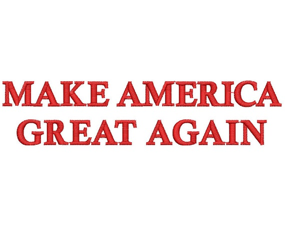 Make america great poster-4338