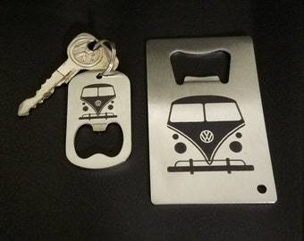VW bus bottle opener