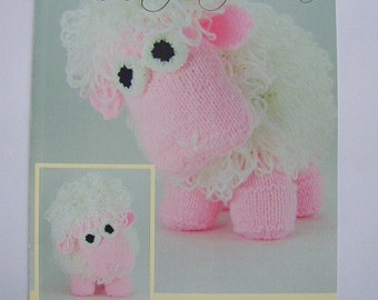 Curly The Sheep Knitting Pattern In DK