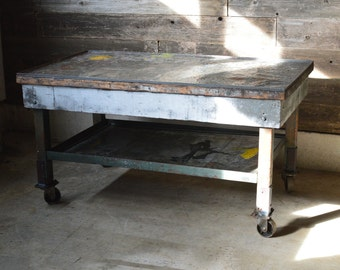 Reclaimed Factory Table ***Local Pickup Only***