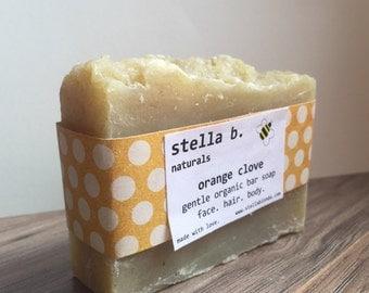 Organic Soap - Orange Clove