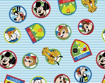 Disney Fabric Mickey Fabric Friends From Springs Creative