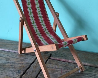 Vintage toy deck chair