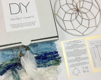 Ocean Breeze DIY Dream Catcher Kit