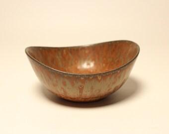 Scandinavian Mid century Stoneware bowl from Rörstrand and Gunnar Nylund Sweden US