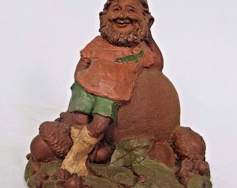 Tom Clark Gnome Cairn Studio Figurine Gator 1032 Resin No Coin 1984 USA Vtg