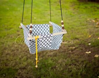 Baby Fabric Swing. Indoor Outdoor Baby Todlder Swing.