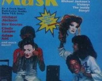 Rock Stars Mask Magazine 1984
