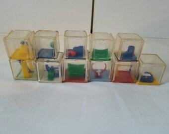 Plastic Puzzle Blocks