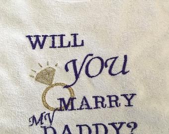 Custom Embroidered Baby Bib