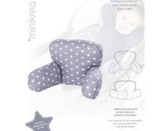Minikrea pattern seat cushion for baby strollers