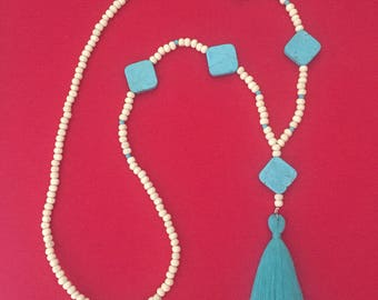 Colette tassel necklace